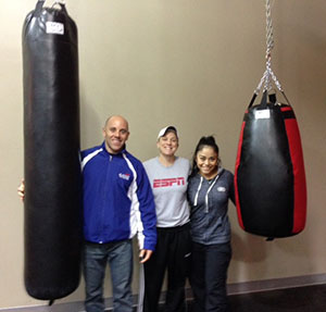 ESPN Team with KO Muay Thay and TearDrop Bags