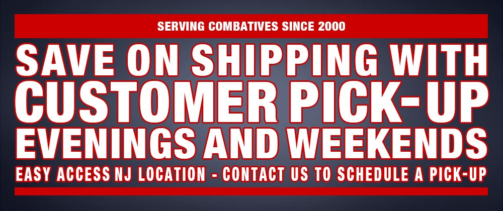 Save on shipping with customer pick-up on evening and weekends. Easy access NJ location. Contact Us to schedule a pick-up appointment!