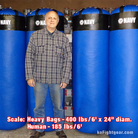 Custom Extra Heavy Bags 200 to 1000 lbs - Detail - Multiple Angles - Front, Back, Top, Bottom, Side